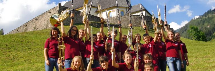 Jugendkapelle 2011 Musikantengruß